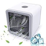 Acondicionador de aire portátil, mini aire acondicionado Acondicionador de aire portátil Acondicionador de aire del USB con humidificador...