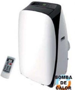 Aire acondicionado portátil con bomba de calor