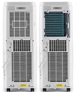 Aire acondicionado portátil con unidad exterior
